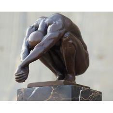 """""""PUISSANCE """" Bronze H 23 cm"""