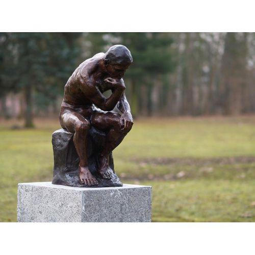 """""""LE PENSEUR """" Bronze d'après RODIN"""