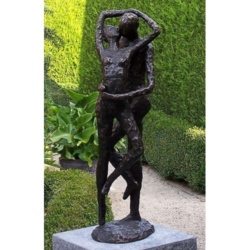 """COUPLE "" Bronze H 54 cm"