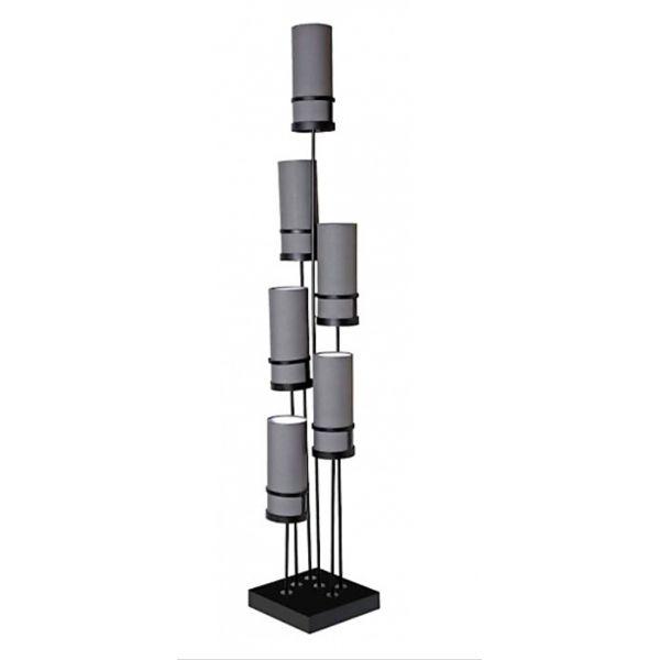"""""""SIXT"""" LAMPADAIRE A 6 TETES hauteur 2 mètres"""