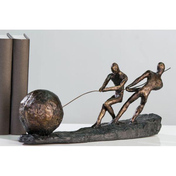 """Sculpture """"ENSEMBLE"""" L 38 cm"""