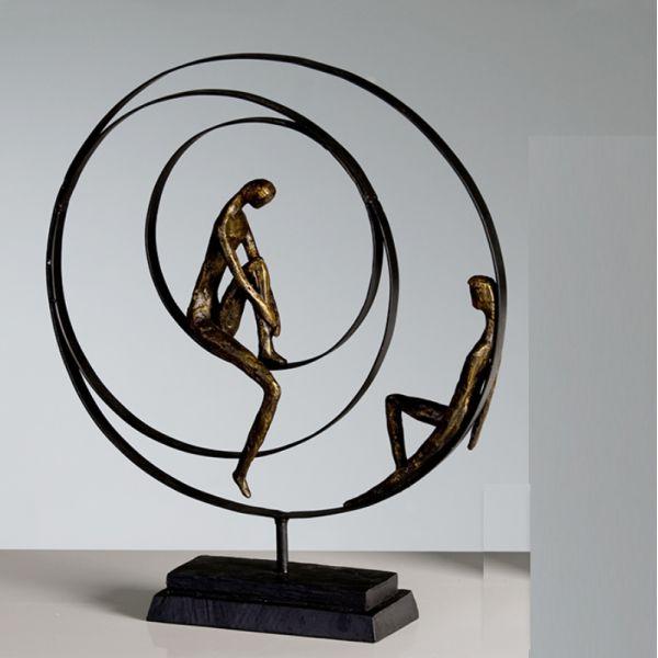 """Sculpture """"PATIENCE"""" L 41 cm"""