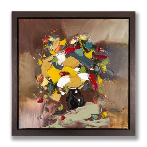 """""""BOUQUET D'AUTOMNE""""  toile signée Darren"""