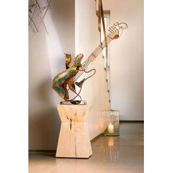 """GUITARE"" Sculpture métal H 80 cm"