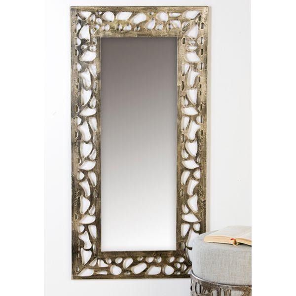 Miroir ellis en m tal h 120 cm peyroles for Miroir 120 cm