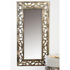 """Miroir """"Ellis"""" en métal - H 120 cm"""