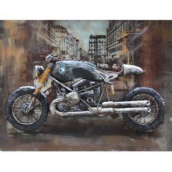 """Plaque métal """"BMW Vintage"""" 60 x 80 cm"""