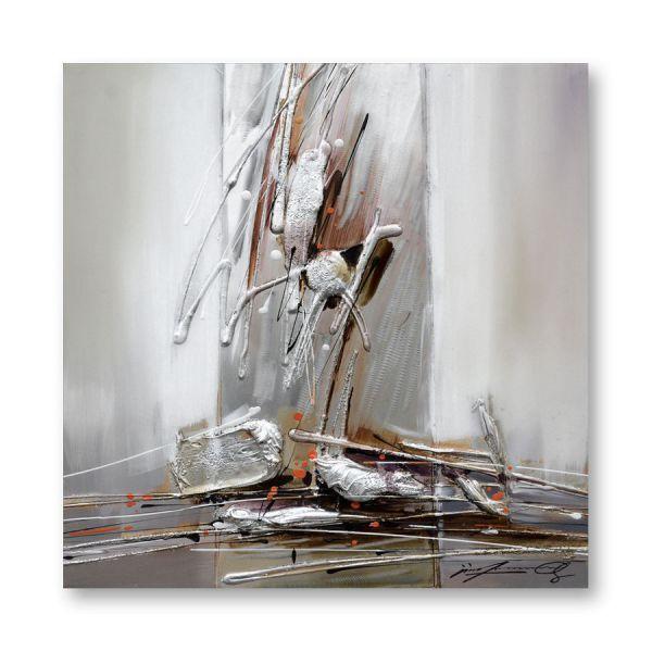 """Toile """"ALIAS 2""""  60 x 60 cm"""