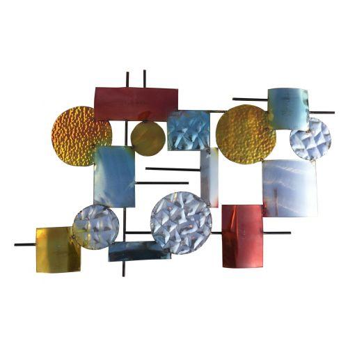 Plaque métal murale CLUB
