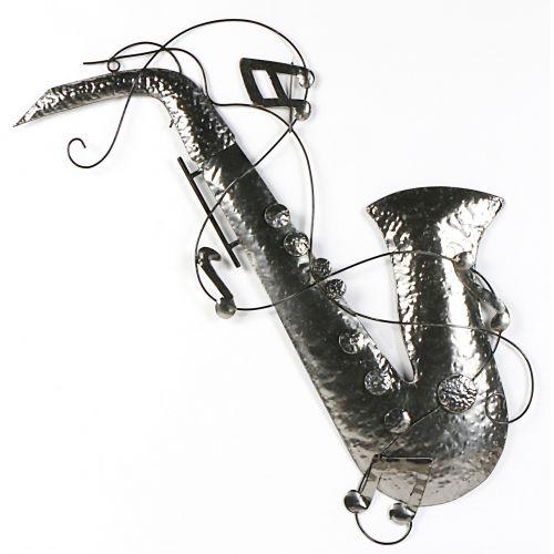 Plaque métal murale SAXO