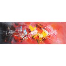 """Toile """"Grandes chaleurs"""" 50 x 150 cm"""