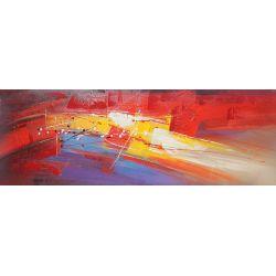 """Toile """"VOLCANO"""" 50 x 150 cm"""