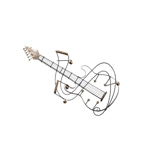 "DECO MURALE METAL ""GUITARE"""