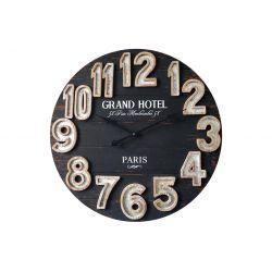 "HORLOGE MURALE "" GRAND HOTEL"" Diam 70 cm"