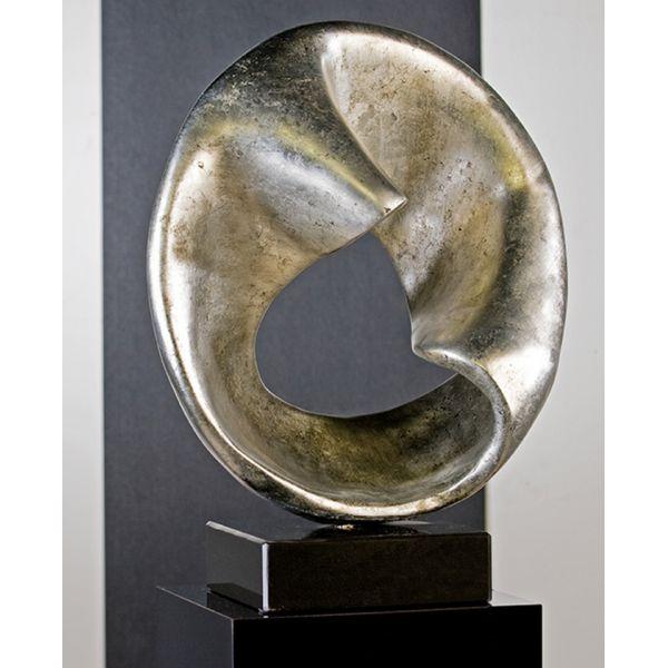 """Sculpture """"MERCURE""""  H 50 cm"""