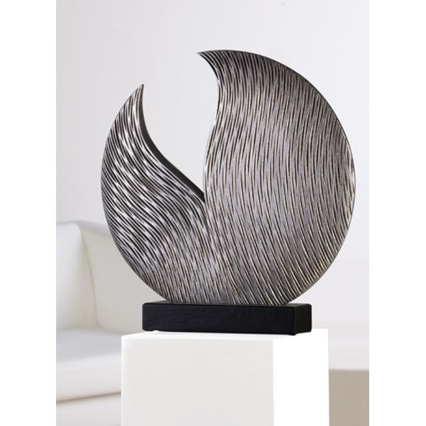 "Sculpture ""PERROQUET"" H 52 cm"