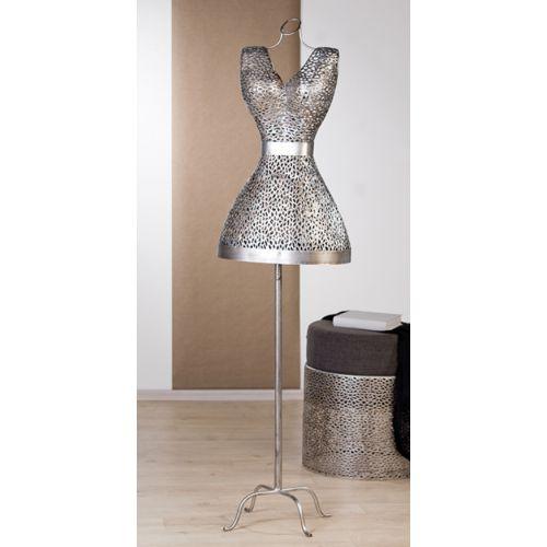 Buste-couture  Perle en métal H 155 cm