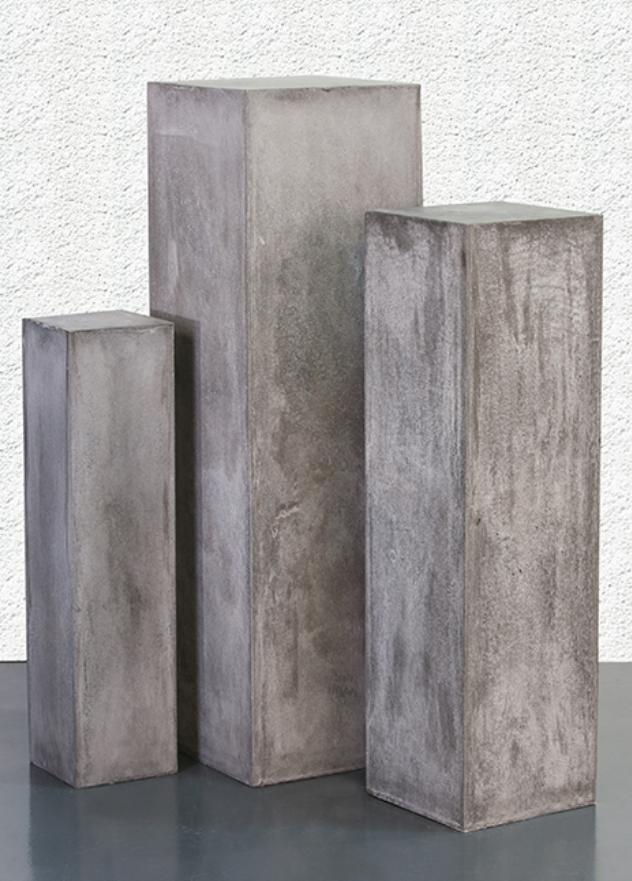 colonnes magn sie effet beton peyroles. Black Bedroom Furniture Sets. Home Design Ideas