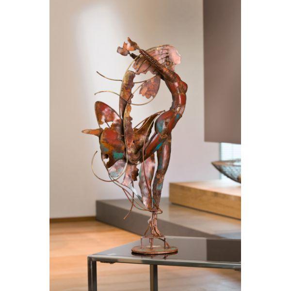"""""""DANSEUSE 1 """" Sculpture métal H 62 cm"""