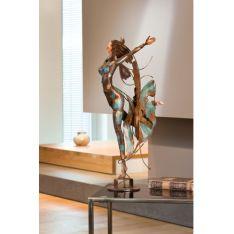 """""""DANSEUSE 2 """" Sculpture métal H 62 cm"""