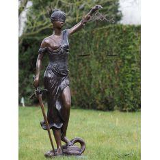 """""""JUSTICE"""" Bronze H 162 cm"""