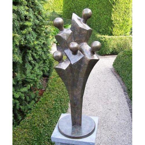 """FAMILLE"" Bronze H 76 cm"